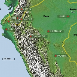 Ecosystems in Peru include rainforests, cloud forests, tropical deciduous forests, and coastal and marine areas